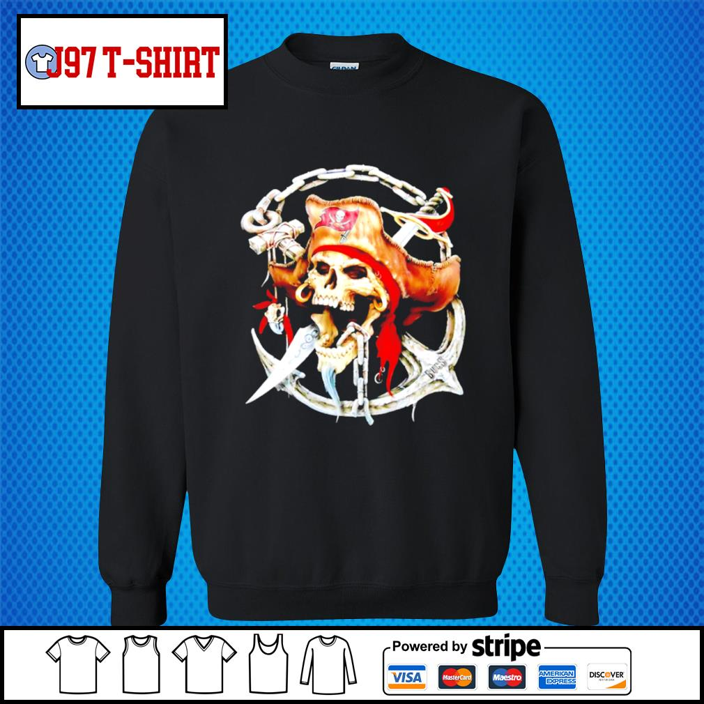 Pirates Skull Tampa Bay Buccaneers s Sweater