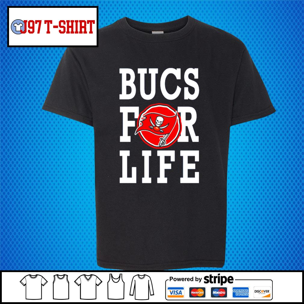Tampa Bay Buccaneers bucs for life s Kid-T-shirt