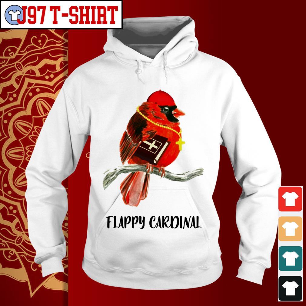 Birds flappy Cardinal Hoodie
