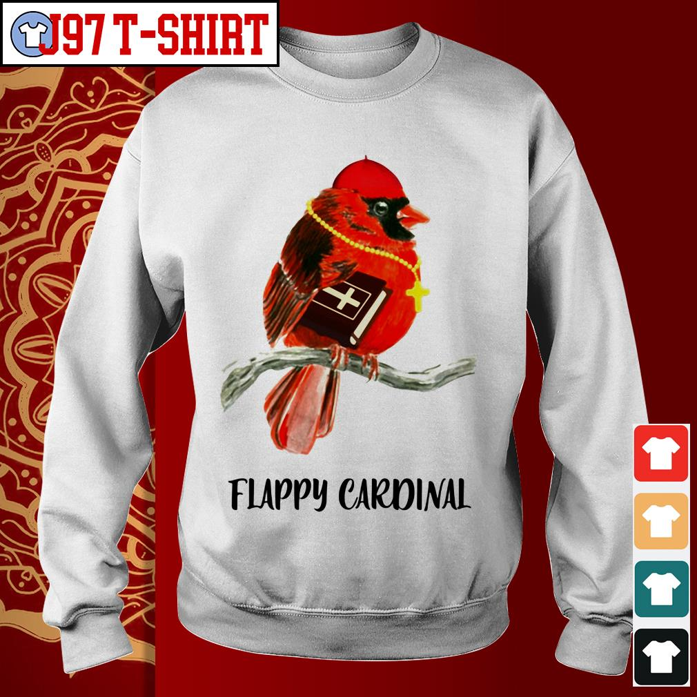 Birds flappy Cardinal Sweater