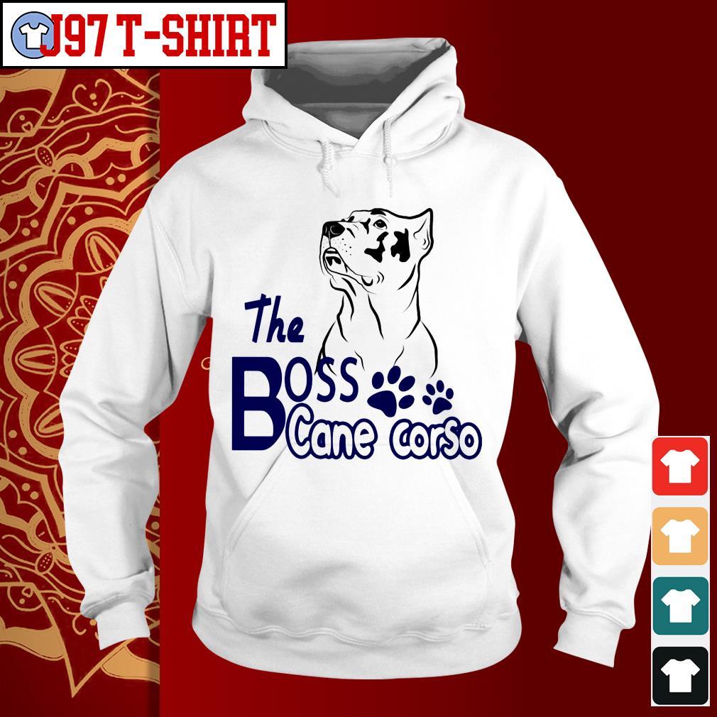 Bull dog the bos cane corsho Hoodie