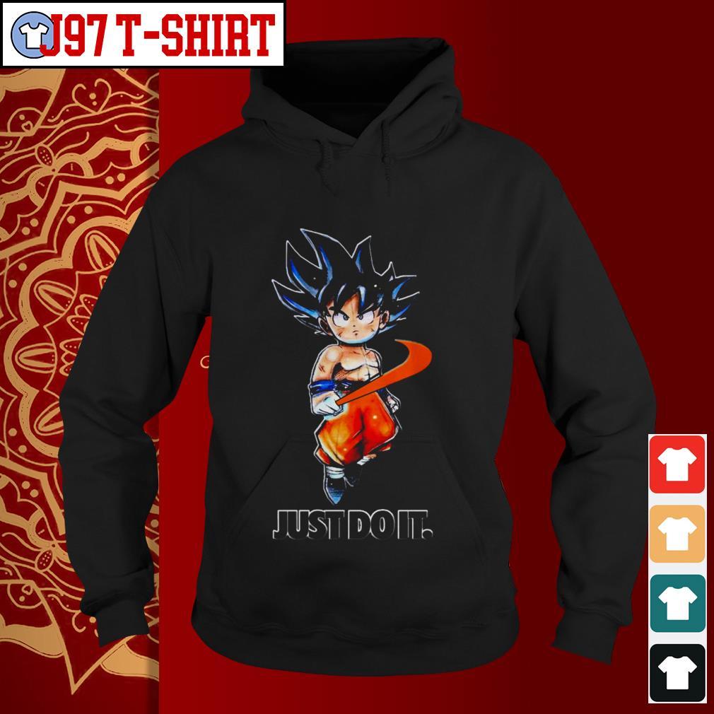 asesino Tesauro Pagar tributo  Dragon ball Goku Nike just do it shirt, sweater, hoodie and v-neck ...