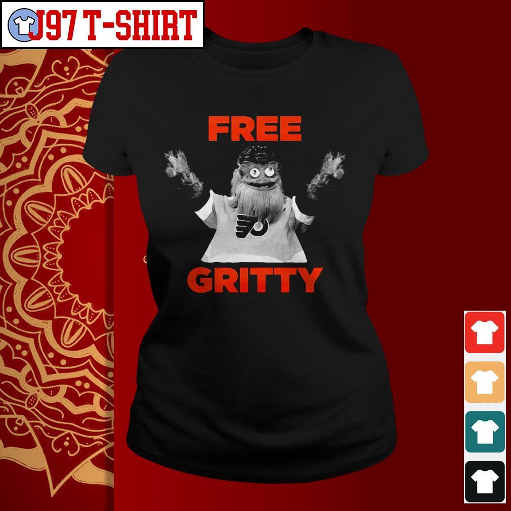 Free gritty Philadelphia Ladies tee