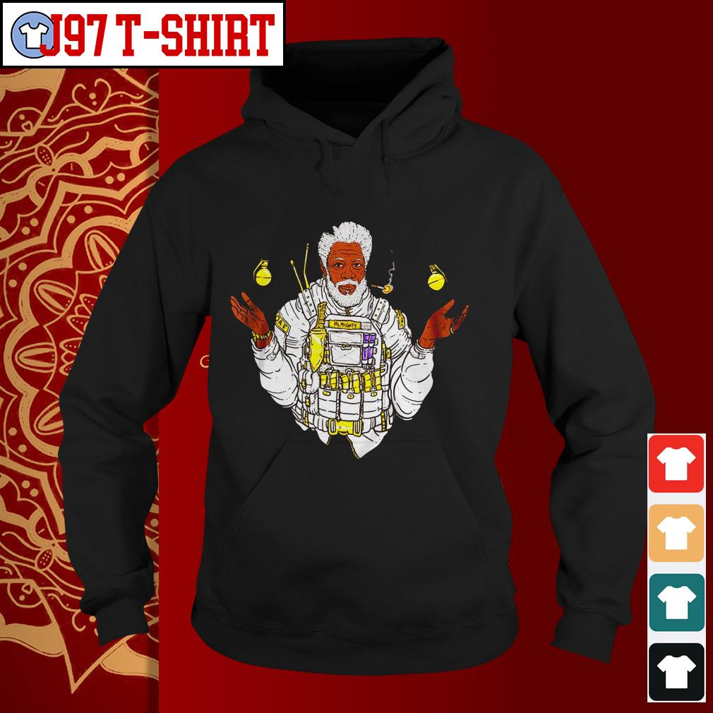 Official Almighty Morgan Morgan Freeman Hoodie