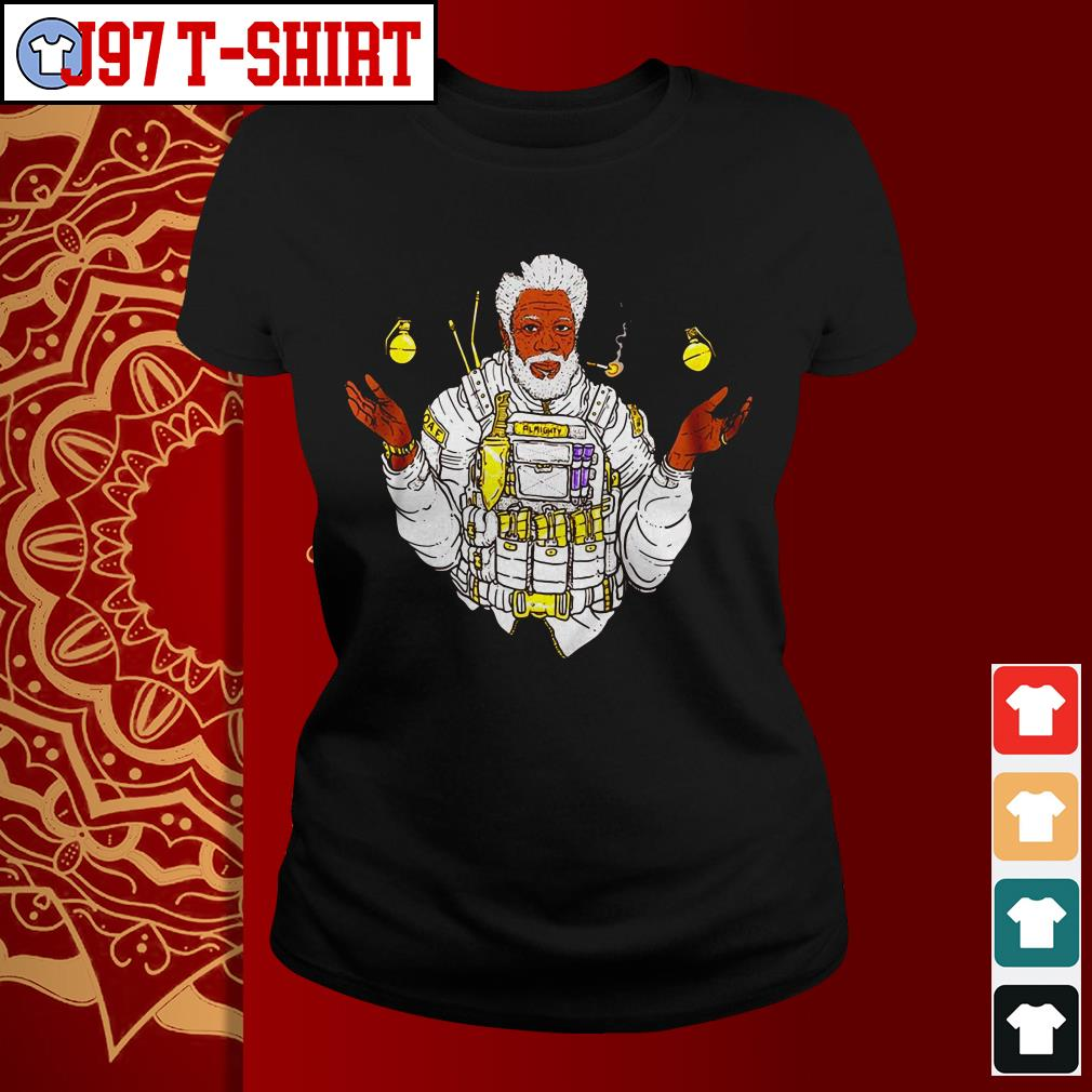 Official Almighty Morgan Morgan Freeman Ladies tee