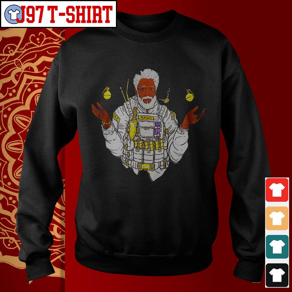 Official Almighty Morgan Morgan Freeman Sweater