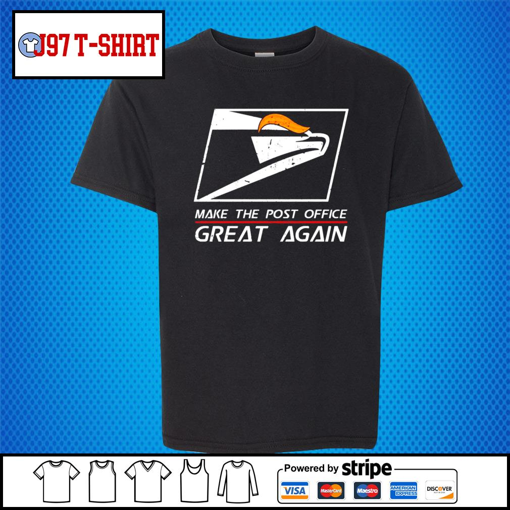 United States Postal Service Make the post office great again Trump s Kid-T-shirt